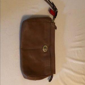 Coach oversized wristlet/evening bag